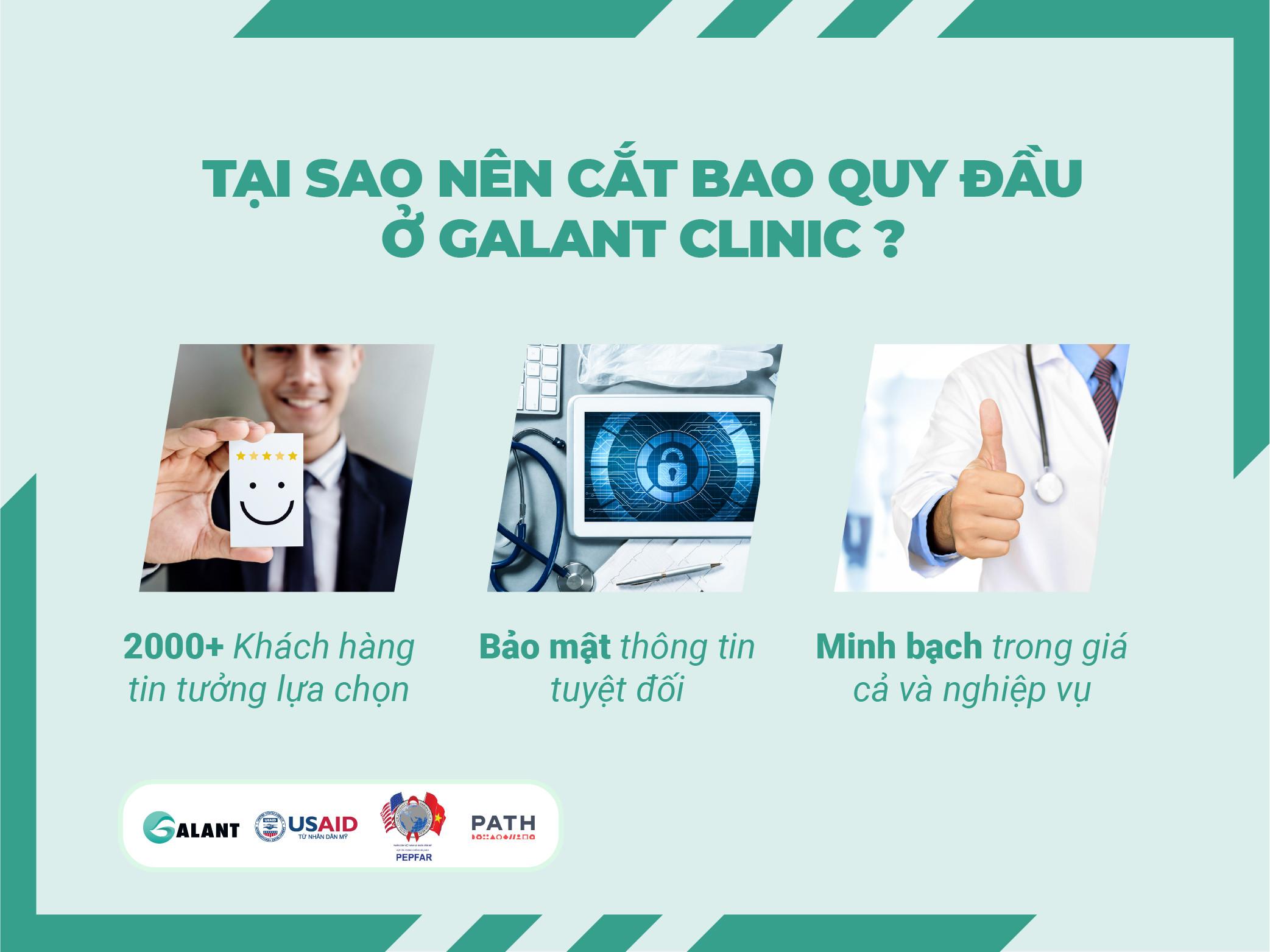 CẮT BAO QUY ĐẦU ĐẸP VÀ ÍT ĐAU - Galant Clinic - Phòng khám cộng đồng cho  người yếu thế tại Việt Nam