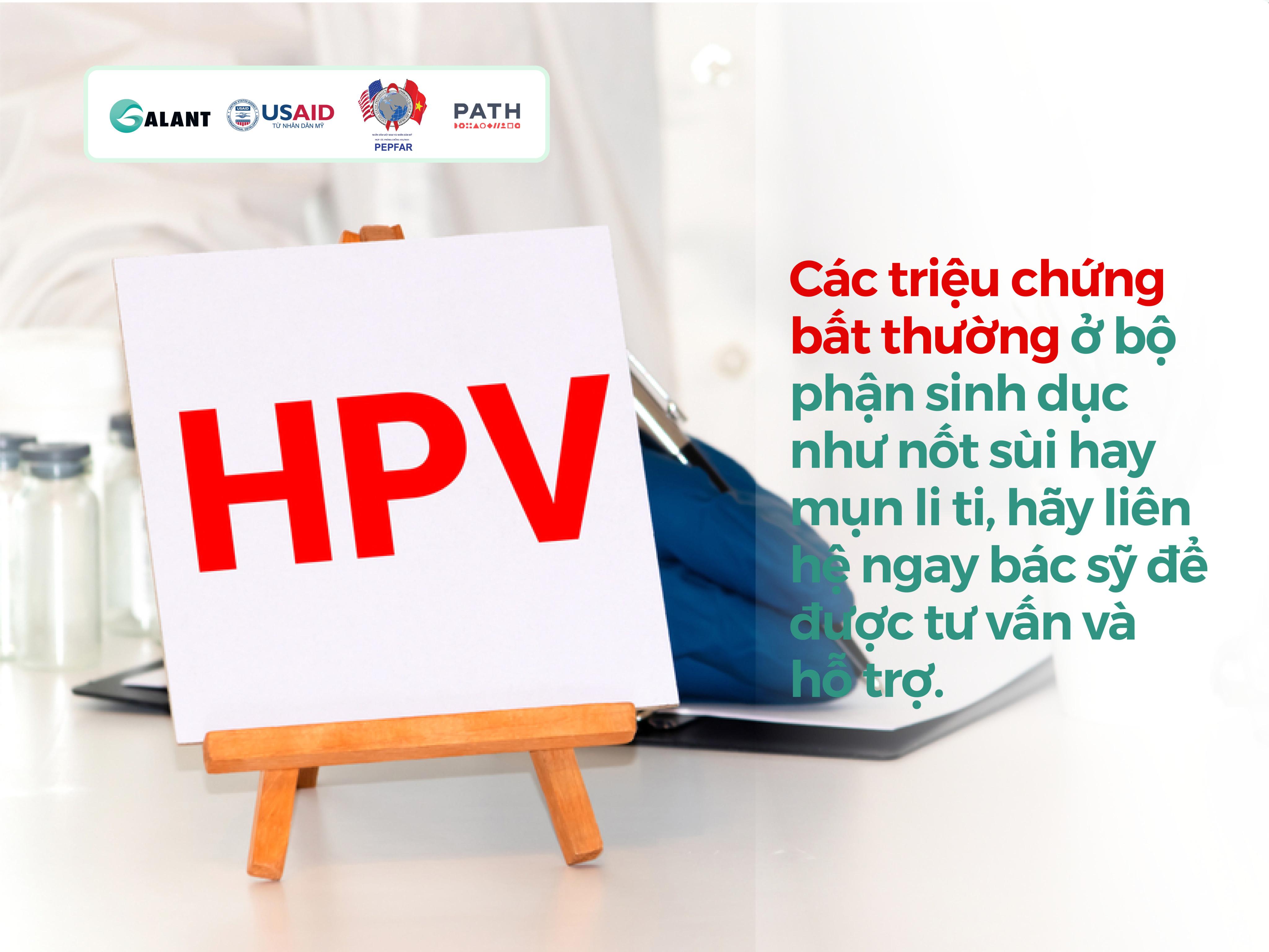 BỆNH SÙI MÀO GÀ HPV